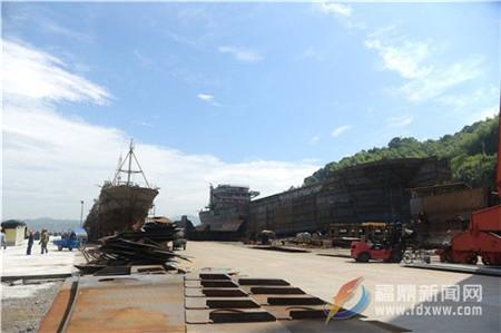 立新船舶建造能力迈上一个新台阶