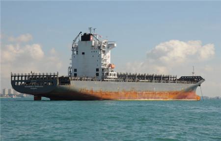 南亚拆船厂掀起集装箱船拆解潮