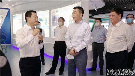 中国船舶集团副总经理孙伟到青岛双瑞调研指导工作