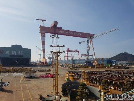 """韩国造船业""""冰火两重天""""?"""