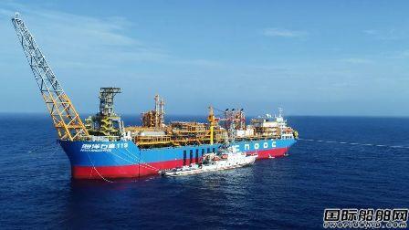 """海油工程完成""""海洋石油119""""海上安装"""
