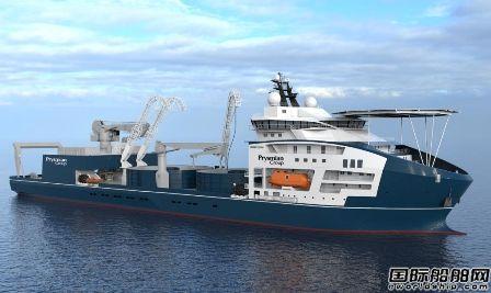 VARD建造全球最大电缆敷设船将进行最后舾装