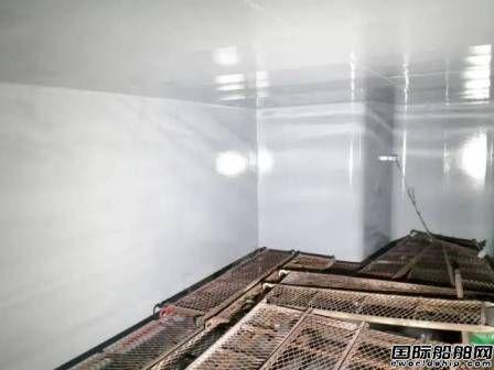 """广船国际摘下化学品成品油船建造特涂""""明珠"""""""