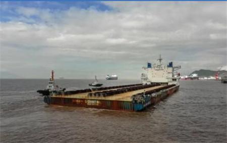 舟山中远海运重工TCO项目支墩制作修理工程完工