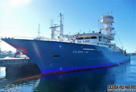 肖特尔为西班牙新造金枪鱼船配套螺旋桨