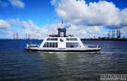 Corvus能源存储系统获新造全电力渡船合同