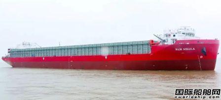 武船集团再获3艘13000吨甲板运输船订单