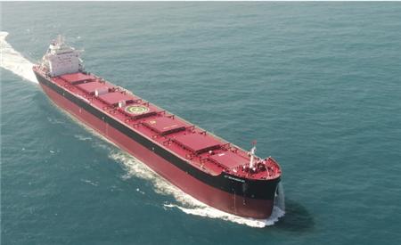 66小时!中船澄西8.2万吨散货船再次刷新试航纪录