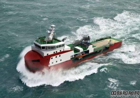 Ampelmann获新造冰级加强工作船配套订单