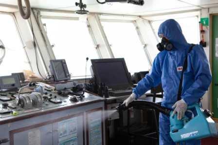 新加坡海峡物流联手ECOM为船舶提供消毒服务