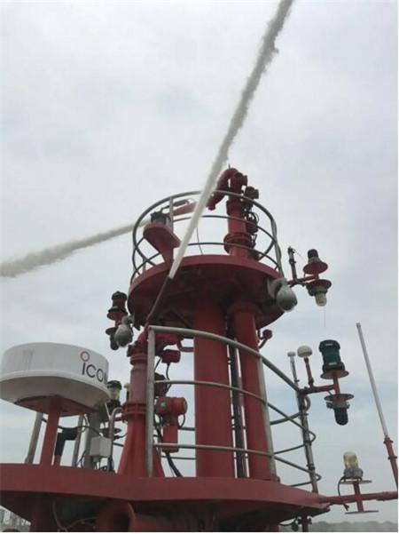 上海中远海运重工完成沪消系列消防船调试重大节点