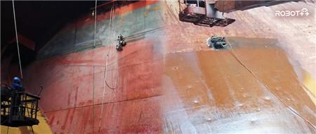 全球领先!史河科技船舶除锈机器人受国内船厂青睐