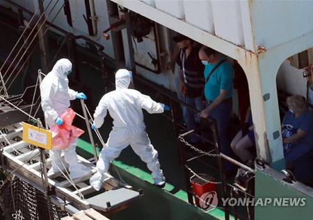 17名船员确诊!韩国将对釜山港所有俄籍船登船检疫