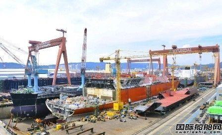 韩国三大船企前5个月接单量远低于预期