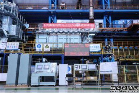 中国船柴交验全球首台6S35ME-B9.5 EcoEGR主机
