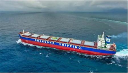 扬州中远海运重工两艘81200吨散货船连续实现试航节点