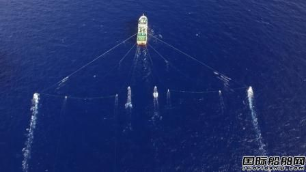 """""""海洋地质八号""""三维物探调查船圆满完成任务顺利返航"""
