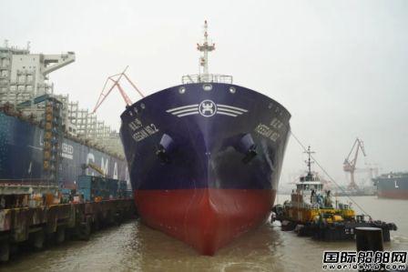 江南造船又一批船出坞起浮实现双过半目标