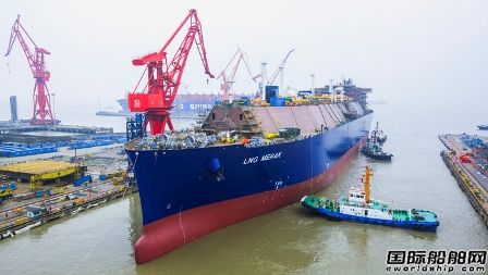 39亿元!沪东中华再获3艘大型LNG船订单