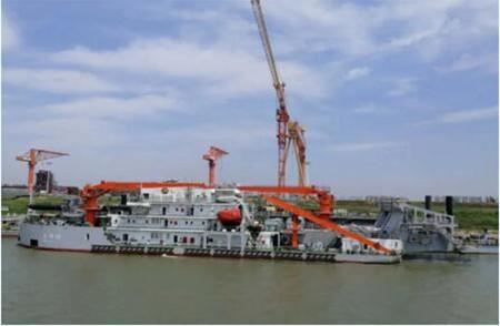 长江航道局2000方挖泥船顺利完成清水试验