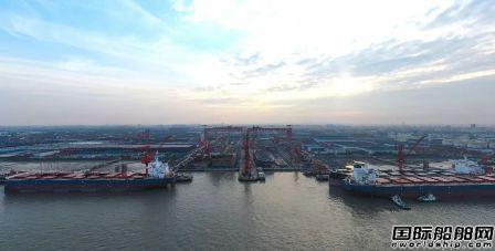 """外高桥造船上半年交船超222万载重吨实现""""双过半""""目标"""