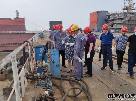新时代造船顺利通过一级I类一般钢质船舶生产条件复审