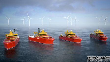福伊特螺旋桨获4艘新造风场运维船订单