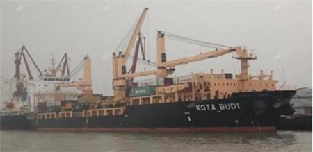 太平船务一艘多用途货船5名中国船员被海盗劫持