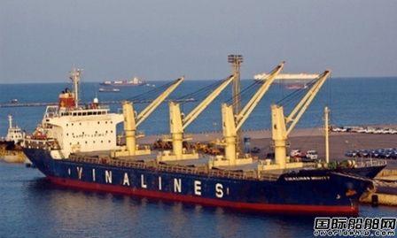 越南国家航运公司Vinalines首次公开募股失败