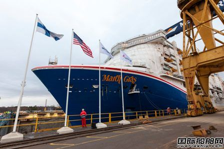 嘉年华邮轮北美首艘LNG动力豪华邮轮将延期至明年交付