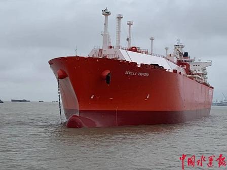 华润大东首艘No96型LNG船修理完美收官