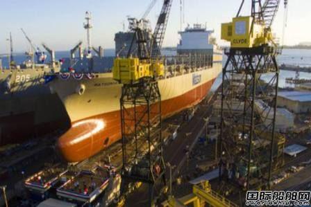 NASSCO为美森轮船建造第二艘3500TEU集滚船命名