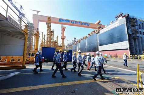 """万人失业?韩国造船业""""解雇海啸""""袭来"""