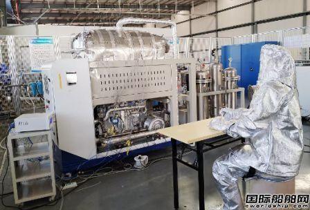 七一二所自主开发国内首套催化燃烧供热脱氢装置样机获突破
