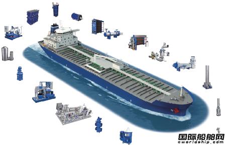 阿法拉伐为中国首艘甲醇燃料化学品船提供甲醇供应系统
