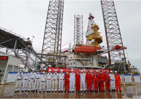 威海金陵再次承修中海油服海工平台项目