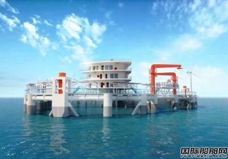 """国内首座大型智能化海洋牧场综合体平台""""耕海1号""""投入运营"""