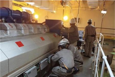 沪东中华总装部门完成2型船关键生产节点