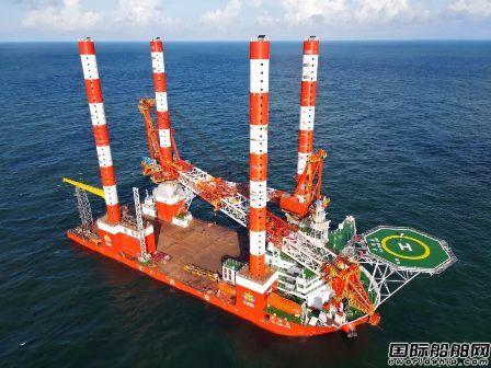 国内首艘插销式自升自航抢险打捞工程船完成海试
