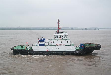 镇江船厂交付一艘3680kW全回转拖船