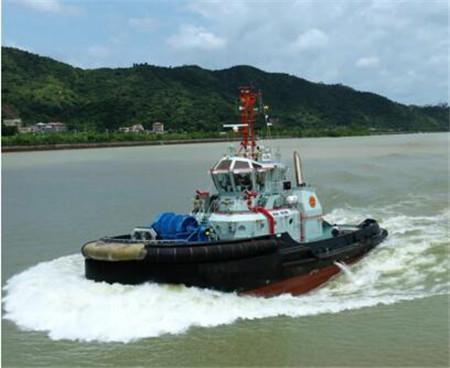 显利造船交付香港友联船厂首艘32米RAstar拖轮