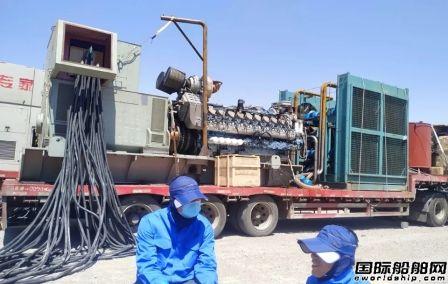 河柴重工一型柴油机通过高海拔性能试验