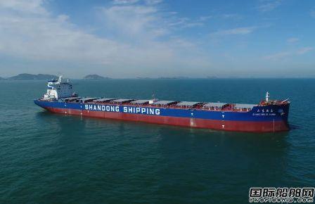 外高桥造船一周连续交付2艘好望角型散货船