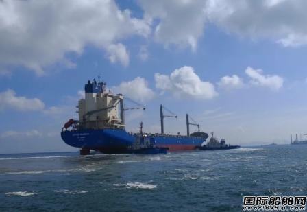 北船重工成功交付100艘洗涤塔安装项目