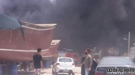 伊朗一家船厂起火7船受损,事故频发引人猜测