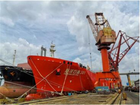 """""""海洋石油301""""轮智能船岸一体化升级"""