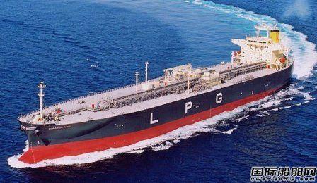 川崎重工获Kumai Navigation第三艘LPG动力VLGC订单