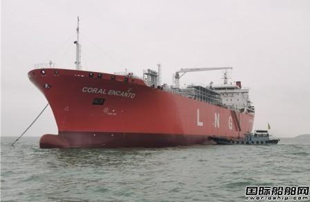 推迟5年苦寻船东?新乐造船交付首艘3万方LNG船