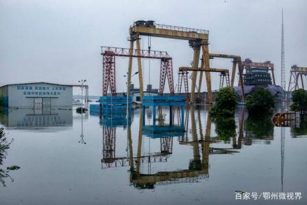 """鄂州光大船厂""""水漫金山""""损失严重"""