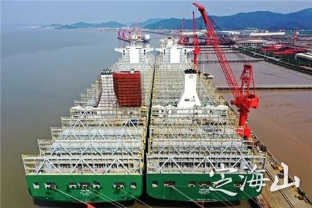 长宏国际船舶脱硫装置改装忙